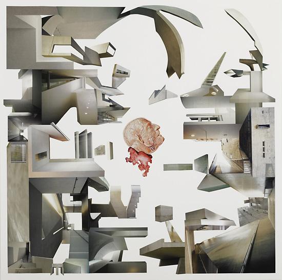 Quartet Der Traum / 70 x 70 cm