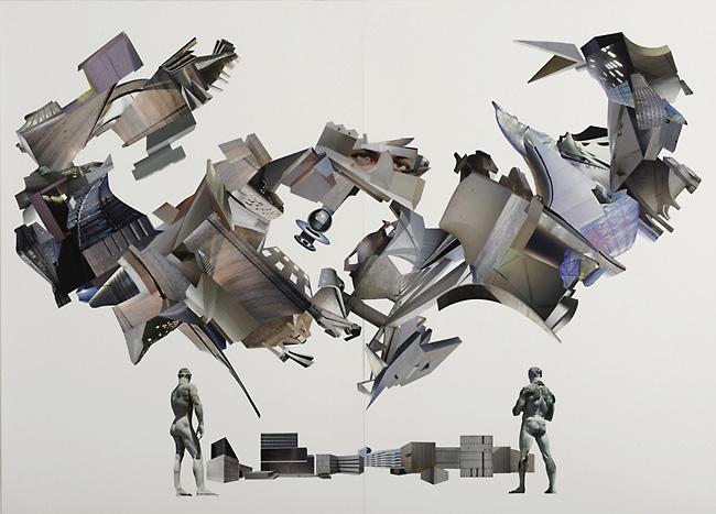 Der Hausengel / 100 x 140 cm