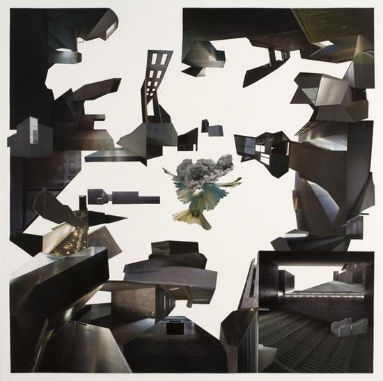 Quartet Der Friede / 70 x 70 cm