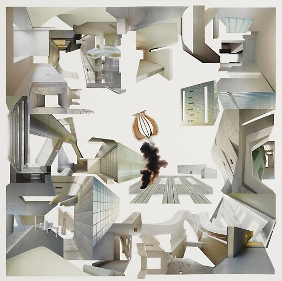 Quartet Der Schlaf / 70 x 70 cm